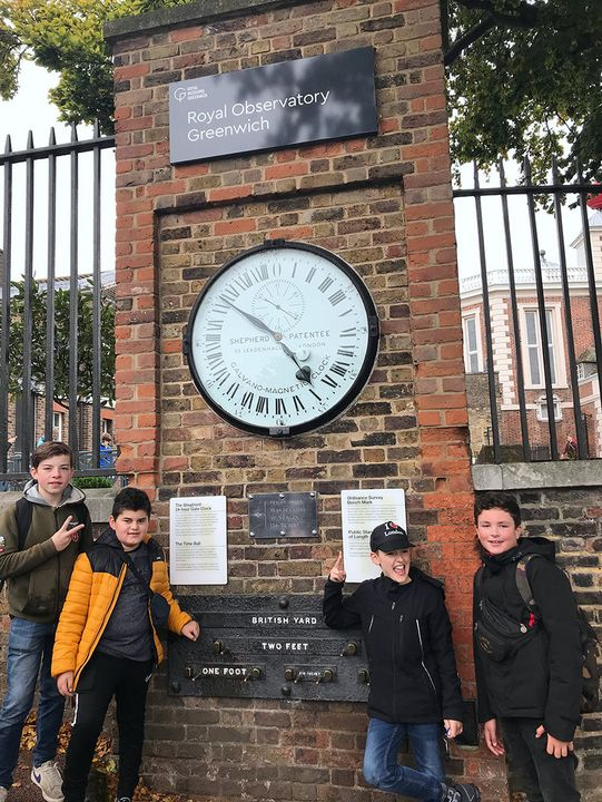 Am Royal Observatory in Greenwich